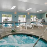 Indoor Hot Tub and Pool at Quality Inn & Suites Albany