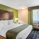 King Bed Room with Window at Quality Inn & Suites Albany