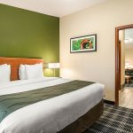King Bed Efficiency Suite at Quality Inn & Suites Albany