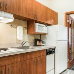 Kitchenette at Quality Inn & Suites Albany