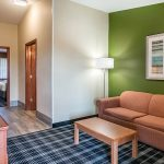 Suite Living Room at Quality Inn & Suites Albany