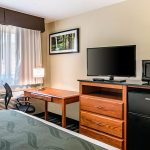 Standard King Bed Room Amenities at Quality Inn & Suites Albany