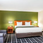 King Bed Jacuzzi Suite at Quality Inn & Suites Albany